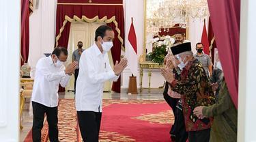 Bertemu Jokowi, Amien Rais Bahas Tewasnya 6 Laskar FPI