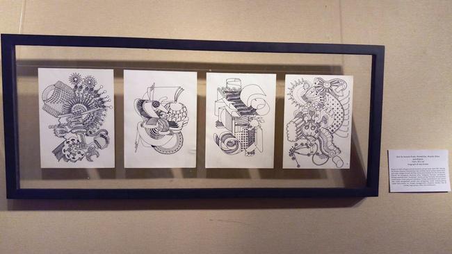 Luksian karya Anggit yang dipamerkan di Galeri Cipta III, Taman Ismail Marzuki, Jakarta/copyright Liputan6.com/Fitri Haryanti Harsono