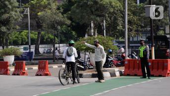 Dishub DKI Jakarta Bolehkan Jalur Sepeda Sudirman-Thamrin Digunakan untuk Bekerja