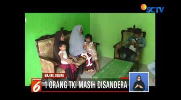 Istri TKI asal Majane, Sulawesi Barat, kecewa suaminya masih disandera kelompok separatif Abu Sayyaf.