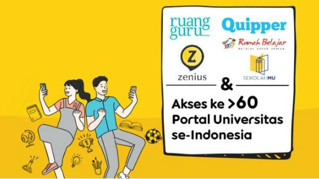 Belajar Gratis Tanpa Kuota Indosat Ooredoo Berikan Akses Ke Lebih Dari 60 Platform E Learning Tekno Liputan6 Com