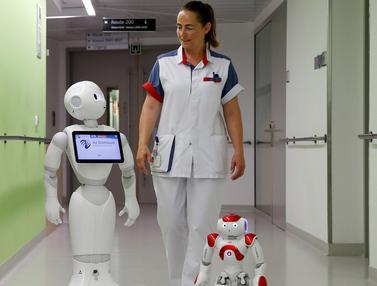 20160617-Berobat ke Rumah Sakit Ini, Anda Akan Dirawat Oleh Perawat Robot