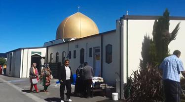 Masjid Al Noor Christchurch, Selandia Baru
