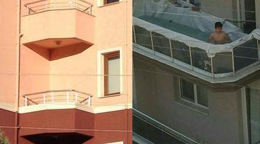 Viral, 7 Desain Balkon Nyeleneh Bikin Heran Warganet