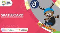 Logo Cabang Baru Asian Games 2018_Skateboard (Bola.com/Adreanus Titus)
