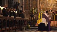 Proses kebaktian pemakaman Pangeran Philip di Windsor. Dok: Royal Family