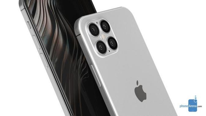 Gambar render iPhone 12. (Doc: Phone Arena)
