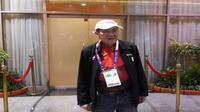 Orang terkaya di Indonesia Bambang Hartono jadi atlet bridge di Asian Games 2018 (Foto:Liputan6.com/Bawono Y)