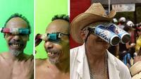 6 Bentuk Kacamata yang Nyeleneh Ini Bikin Tepuk Jidat (sumber: 1cak dan Brightside)