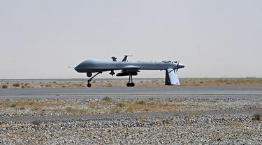 Ilustrasi drone AS