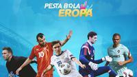 Piala Eropa - Maarten Stekelenburg, Goran Pandev, Yuri Zhirkov, Craig Gordon, Pepe (Bola.com/Adreanus Titus)