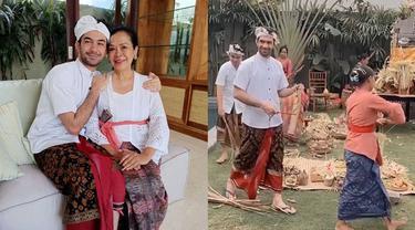 Punya Villa Baru di Bali, Ini 6 Momen Reza Rahadian Jalani Upacara Melaspas