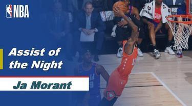 Berita Video Assist Keren Ja Morant di NBA All Star-Rising Star 2020