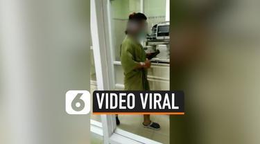 Viral di media sosial rekaman seorang pasien yang diduga positif corona dan berada di Tegal sedang berolahraga. Pihak RSUD belum mengkonfirmasi, namun pihak RS memastikan kondisi pasien corona di Tegal baik.