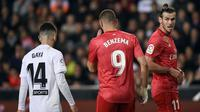 Real Madrid kalah 1-2 dari Valencia pada laga pekan ke-30 La Liga. (AFP/Jose Jordan)
