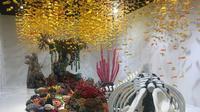 Satu lagi lokasi seru dan anyar hadir di Indonesia. Motomoto Museum dan Resto akan menyuguhkan beragam karya seni kontemporer yang sangat menarik untuk dilirik. di Motomoto Museum dan Resto. (Foto: Adinda Tri Wardhani/ Fimela,com/ Liputan6.com)