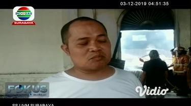 Sebuah pabrik kasur di Kabupaten Pasuruan, Jawa Timur ludes dilalap si jago merah, Senin siang. Sempat terdengar ledakan keras dari dalam pabrik yang diduga berasal dari mesin kompresor. Meski tidak ada korban jiwa, namun kerugian ditaksir mencapai m...
