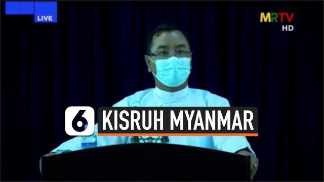 Aung San Auu Kyi dituduh junta militer Myanmar menerima uang ilegal senilai miliaran Rupiah pada tahun 2017-2018.