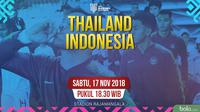 Piala AFF 2018 Thailand Vs Indonesia_2 (Bola.com/Adreanus Titus)