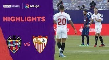Berita video highlights La Liga 2019-2020 antara Levante melawan Sevilla yang berakhir dengan skor 1-1, Selasa (16/6/2020) dini hari WIB.