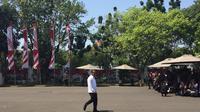 Pengusaha Bahlil Lahadalia datang ke Istana Kepresidenan Jakarta, Selasa (22/10/2019). (Merdeka.com/ Titin Supriatin)