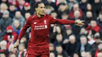 2. Virgil van Dijk (Liverpool) - Overall 88 (Naik 3 Poin). (AP/Rui Vieira)