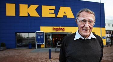 Pendiri IKEA, Ingvar Kamprad