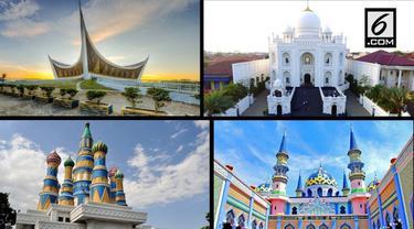 Seiring perkembangan zaman, banyak masjid yang menampilkan keindahan arsitektur nan unik. Berikut 4 masjid instagramable di Indonesia yang wajib dikunjungi.