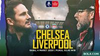 Premier League - Chelsea Vs Liverpool - Head to Head Pelatih (Bola.com/Adreanus Titus)