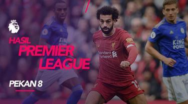 Berita video hasil Premier League 2019-2020 pekan ke-8. Liverpool bungkam Leicester City, Manchester United kalah dari Newcastle United.