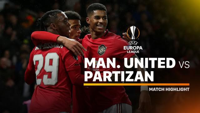 Berita video highlights Manchester United saat menaklukkan Partizan pada matchday 4 Grup L Liga Europa 2019-2020, Kamis (7/11/2019).