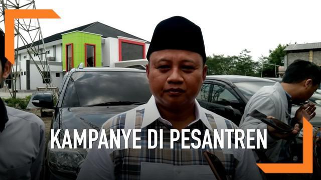 Diduga lakukan kampanye di pesantren, Wakil Gubernur Jawa Barat, Uu Ruzhanul Ulum, dipanggil Bawaslu Tasikmalaya dan terancam hukuman 2 tahun penjara.