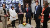 Perancis menawarkan kerjasama keamanan usai bom Gereja Surabaya. (Liputan6.com/Dian Kurniawan)
