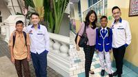 6 Momen Ruben dan Sarwendah antar Betrand Peto ke Sekolah Baru (Sumber: Instagram/