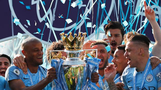 Kebahagiaan Pemain Manchester City Usai Juara Liga Inggris