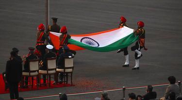 FOTO: Perayaan Hari Republik India Resmi Ditutup