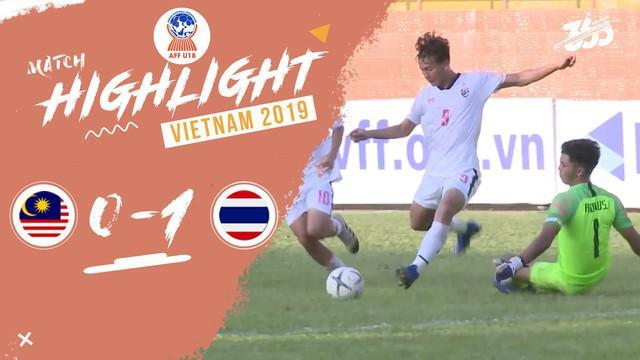 Berita video momen kemenangan Thailand berkat blunder kiper Malaysia, Firdaus Irman Mohd Fadhil, pada laga terakhir mereka di Grup B Piala AFF U-18 2019, Kamis (15/8/2019).