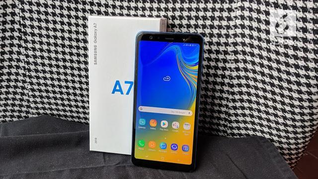 Punya 3 Kamera Utama Ini Harga Samsung Galaxy A7 Di Indonesia