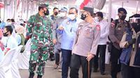 Program vaksinasi gratis buruh di Jawa Barat (dok: KSPSI)