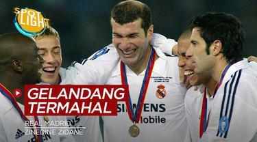 Berita video spotlight kali ini membahas tentang empat gelandang rekrutan Real Madrid dengan harga mahal, salah satunya Zinedine Zidane.