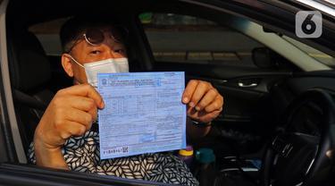 FOTO: Sanksi Tilang Terhadap Pelanggar Ganjil Genap Kembali Diberlakukan