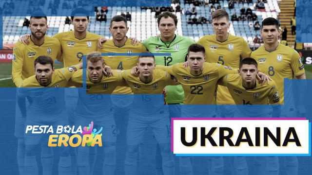 Berita motion grafis profil tim Ukraina di Piala Eropa 2020