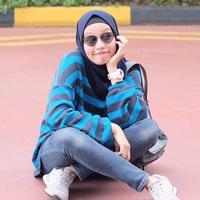 Ini dia Prilia Nur Afrida, asisten pribadi sekaligus manajer dari Zaskia Adya Mecca. (Liputan6.com/IG/@prilianurafrida)