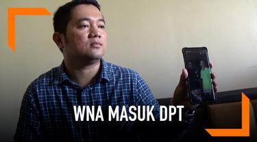 Bawaslu Kabupaten Ciamis menemukan tiga warga negara asing masuk ke dalam daftar pemilih tetap Pemilu 2019.
