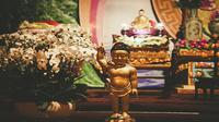 Ilustrasi patung Buddha Hari Raya Waisak 2021 (Sumber: Pixabay/Quoctrung0106)