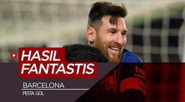 Banyak tercipta hasil fantastis yang terjadi pada Rabu (30/1/2019), seperti Barcelona dan Fiorentina yang pesta gol.