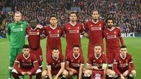Gelandang Real Madrid, Toni Kroos, memprediksi 11 pemain Liverpool akan tampil buas seperti binatang dalam final Liga Champions 2017-2018. (AFP/Oli Scarff)