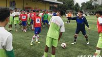 FC Tokyo kembali menggelar coaching clinic di Jakarta bersama Pertamina Soccer School. (FC Tokyo Facebook)