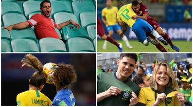 Brasil melangkah ke babak 16 besar Piala Dunia Wanita 2019 sementara Neymar dkk gagal meraih poin penuh setelah ditahan imbang Venezuela di laga kedua penyisihan grup A Copa America 2019.