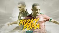 Rizky Pora. (Bola.com/Dody Iryawan)